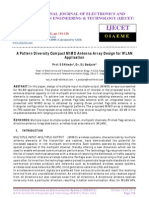 A Pattern Diversity Compact MIMO Antenna Array Design for WLAN