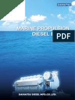 Daihatsu_Marine Propulsion Diesel Engine