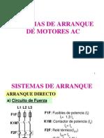 Sistemas de Arranque Motores AC