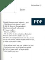 Poezii Marin Sorescu 1 - La lilieci