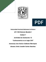 Un. 7 Act. 12 AP-1108 Historia Mundial i Erick Josafat Cortes Sanchez