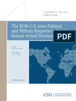 The ROK-U.S. Joint Political and Military Response to North Korean Armed Provocations