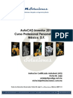 Manual de AutoCAD Inventor 2010