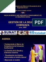20070718 110713 Gestion de La Deuda y Cobranza Coactiva - Peru