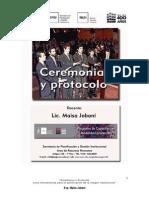 Www.unc.Edu.ar Gestion Programas Capacitacion Modalidad Presencial 1 Cursos Talleres Seminarios Ceremonial y Protocolo Bibliografia Apunte Ceremonial y Protocolo 2012