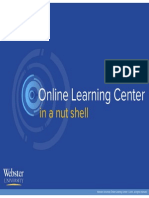 Webster's Online Learning Center In A Nutshell