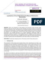 Localization of Free 3D Surfaces by the Mean of Photometric