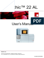 Orphee Mythic 22-AL Hematology Analyzer - User Manual