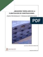 Intercambiadores Tierra-Aire en La Climatizacion de Construcciones