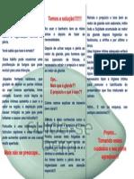 Folder de Higiene Intima Masculina