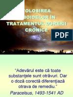 Opioide in Tratamentul Durerii 37