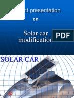 62170389 Solar Car Presentation
