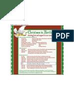 Christmas in Berthoud Schedule 2013