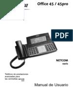 Manual Office 45