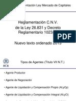 Reglamentacion Ley MC