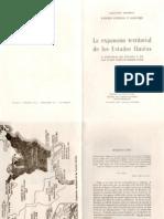 Ramiro Guerra y Sanchez La Expansion Territorial de Los Estados Unidos