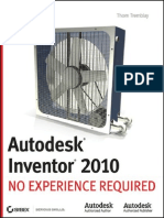 Autodesk Inventor 2010 No Experience Required Uplodedbykireeee