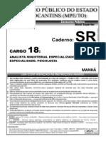 Cespe 2006 Mpe to Analista Psicologia Prova