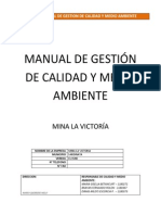 Manual de Calidad y Medio Ambiente - 2do Previo