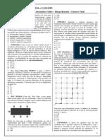 Lista de exercícios_Matemática_3º ano_Ensino Médio