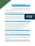 Resumen Explicativo de La Norma ISO 9001