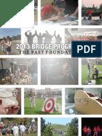 2013 Bridge Programs Report