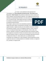 3er Informe de Termofluidos