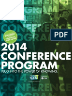 2014 CES Virtual Conference Brochure