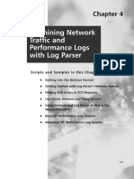 Examining Network Traffic and Performance Logs With Log Parser