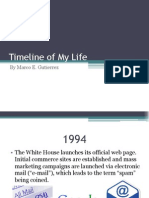 timeline of my life marco g