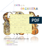 Instruments of the Orchestra Workbook 1