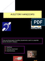 Auditory Handicaps