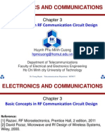 Chapter3 Basic Concepts in Radio Communications Circuit Design