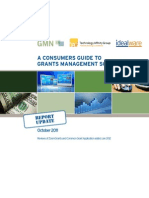 A Consumers Guide to Grants Management Software