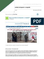 Gmail - [Nuovo Articolo] Gaza Inondata Da Liquami e Complotti