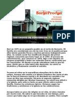 Sorin Prodan. Testimonio Conversion y Llamado