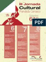 PROGRAMACIÓN III JORNADA CULTURAL FRANCISCA CARRASCO PDF