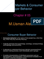 Chap 5 Consumer Markets & Consumer Behavior (1)