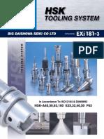 BIG Daishowa HSK Tooling System