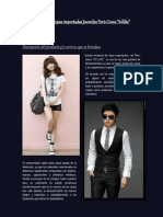 empresa de ropas importadas juveniles per