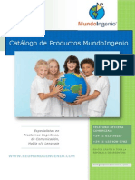 Catalogo Mundoingenio 2011