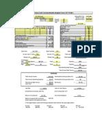 Proforma - Analysis Form Example
