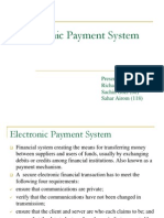 16532162 Electronic Payment System111