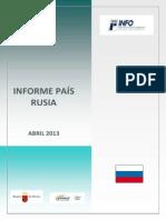 Informe Rusia Abril 2013