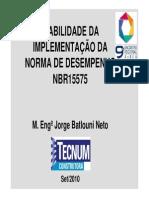 Jorge Batlouni-Palestra Encontro Regional
