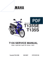 Yamaha T135 HC (Manual) Parts Catalogue | Screw | Clutch