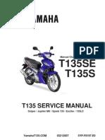 Yamaha 135LC Manual Book