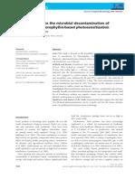 Strawberries Chlorophyllin-based Photosensitization - LEITURA 4