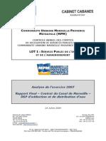 2007 Rapport Eau Marseille