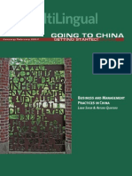 Business and Management Practices in China